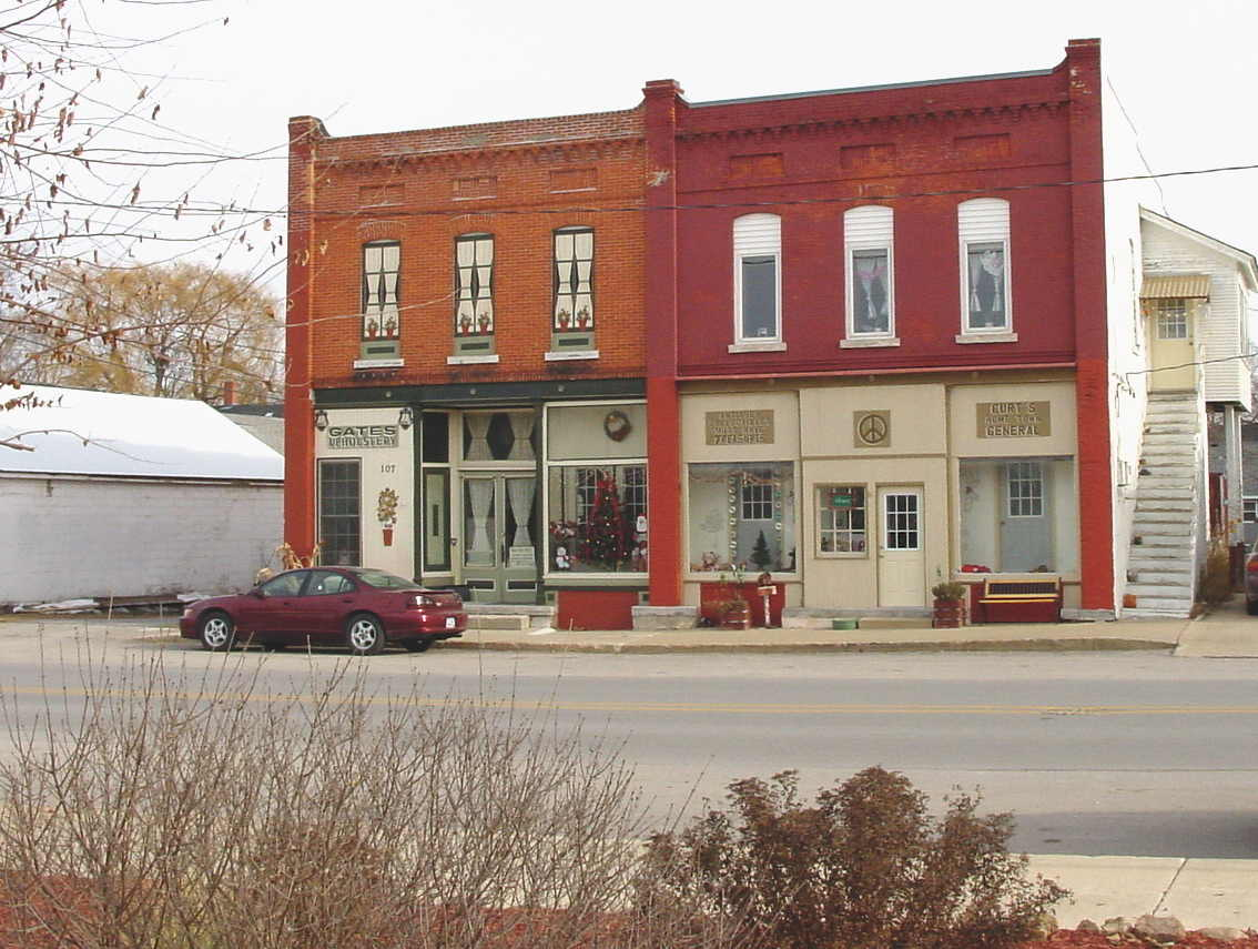 Photo of Gates Upholstery and Curt's Home Town General, Lime Springs, Iowa